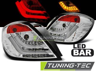 Задние фонари LEDBar Chrome от Tuning-Tec на Opel Astra H GTC