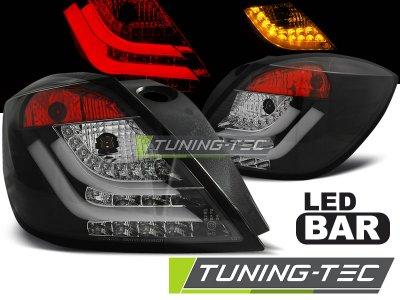Задние фонари LEDBar Black от Tuning-Tec на Opel Astra H GTC