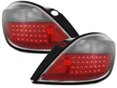 Задние фонари LED Red Smoke на Opel Astra H 5D