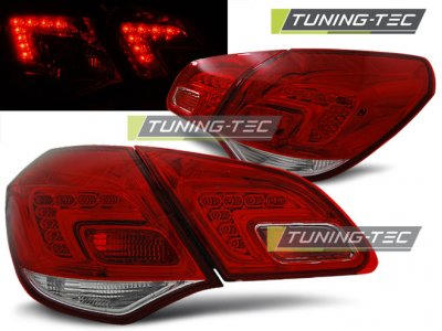 Задние фонари LED Red Crystal от Tuning-Tec на Opel Astra J
