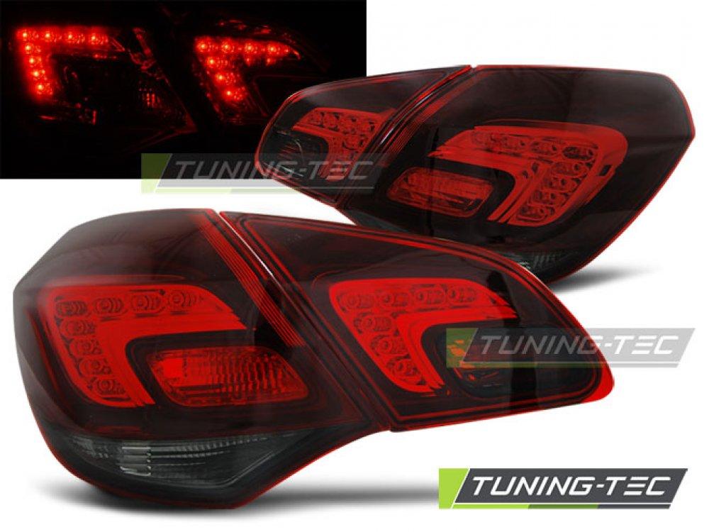 Задние фонари LED Red Smoke от Tuning-Tec на Opel Astra J