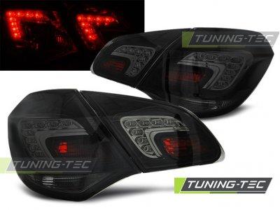 Задние светодиодные фонари LED Smoke от Tuning-Tec на Opel Astra J