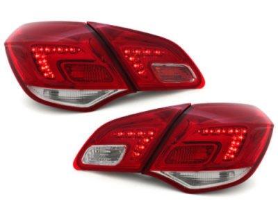 Задние фонари LED Red Crystal на Opel Astra J