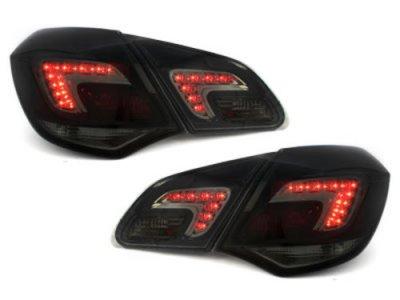 Задние фонари LED Smoke на Opel Astra J