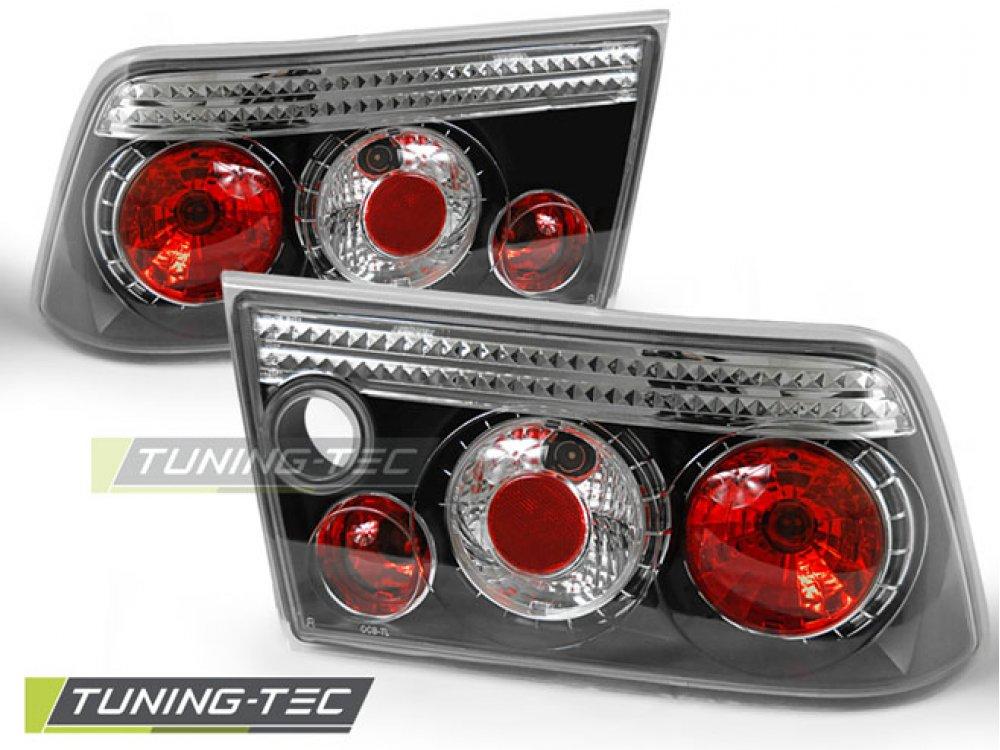 Задние фонари Black Var2 от Tuning-Tec на Opel Calibra