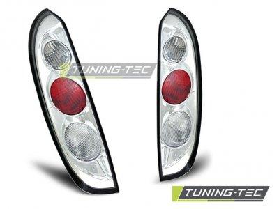 Задние фонари Chrome от Tuning-Tec на Opel Corsa C 3/5D