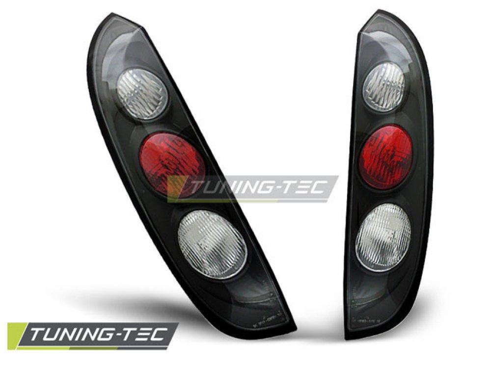 Задние фонари Black от Tuning-Tec на Opel Corsa C 3/5D