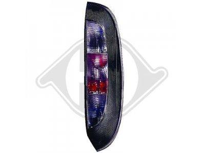 Задние фонари Black от HD на Opel Corsa C 3/5D