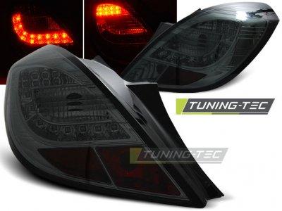 Задняя альтернативная оптика LED Smoke от Tuning-Tec на Opel Corsa D 3D