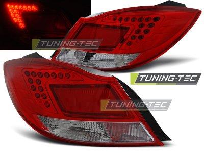 Задние фонари LED Red Crystal от Tuning-Tec на Opel Insignia