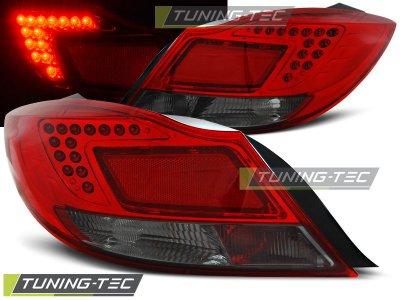 Задние тюнинговые фонари LED Red Smoke от Tuning-Tec на Opel Insignia