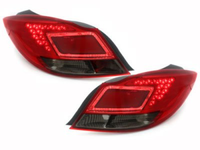 Задние фонари LED Red Smoke на Opel Insignia