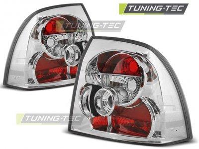 Задние фонари Chrome от Tuning-Tec на Opel Vectra B рестайл