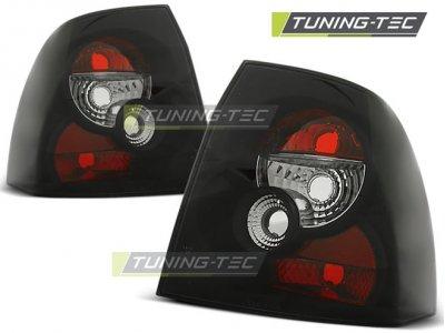 Задние фонари Black от Tuning-Tec на Opel Vectra B рестайл