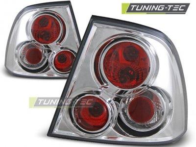 Задние фонари Chrome V3 от Tuning-Tec на Opel Vectra B