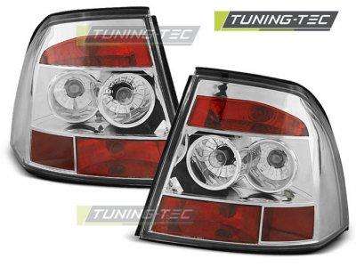 Задние фонари Chrome Var2 от Tuning-Tec на Opel Vectra B