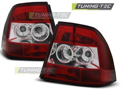Задние фонари Red Crystal от Tuning-Tec на Opel Vectra B