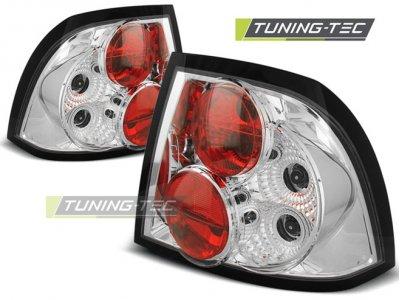 Задняя альтернативная оптика Chrome от Tuning-Tec на Opel Vectra B