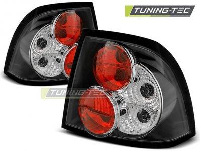 Задняя альтернативная оптика Black от Tuning-Tec на Opel Vectra B