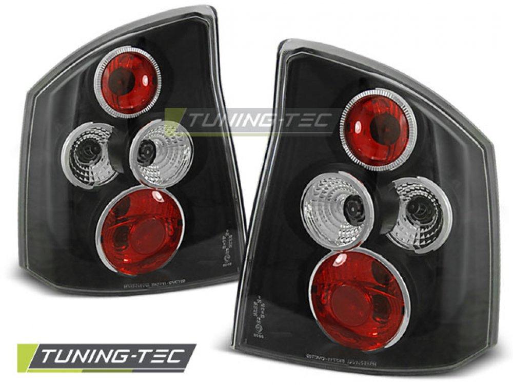 Задние фонари Black на Opel Vectra C
