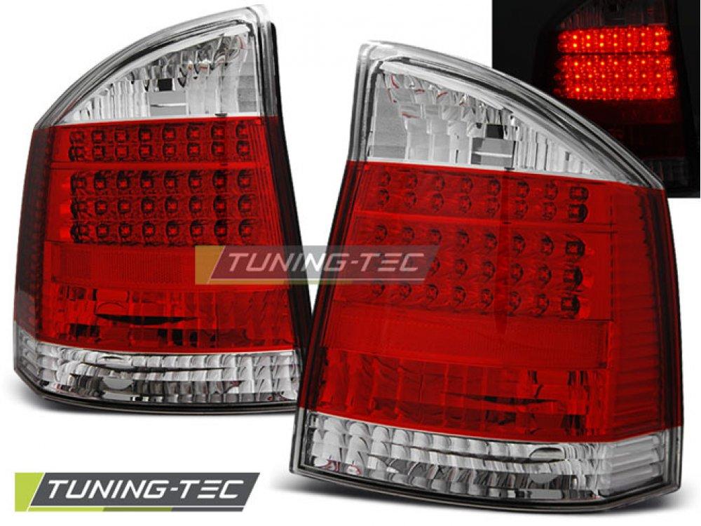 Задние фонари LED Bar Red Crystal на Opel Vectra C
