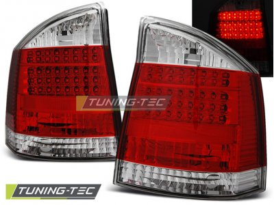 Задние фонари LED Bar Red Crystal на Opel Vectra C