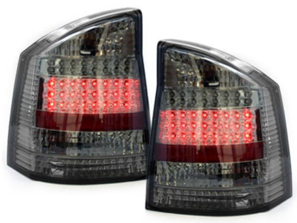 Задние фонари LED Smoke на Opel Vectra C