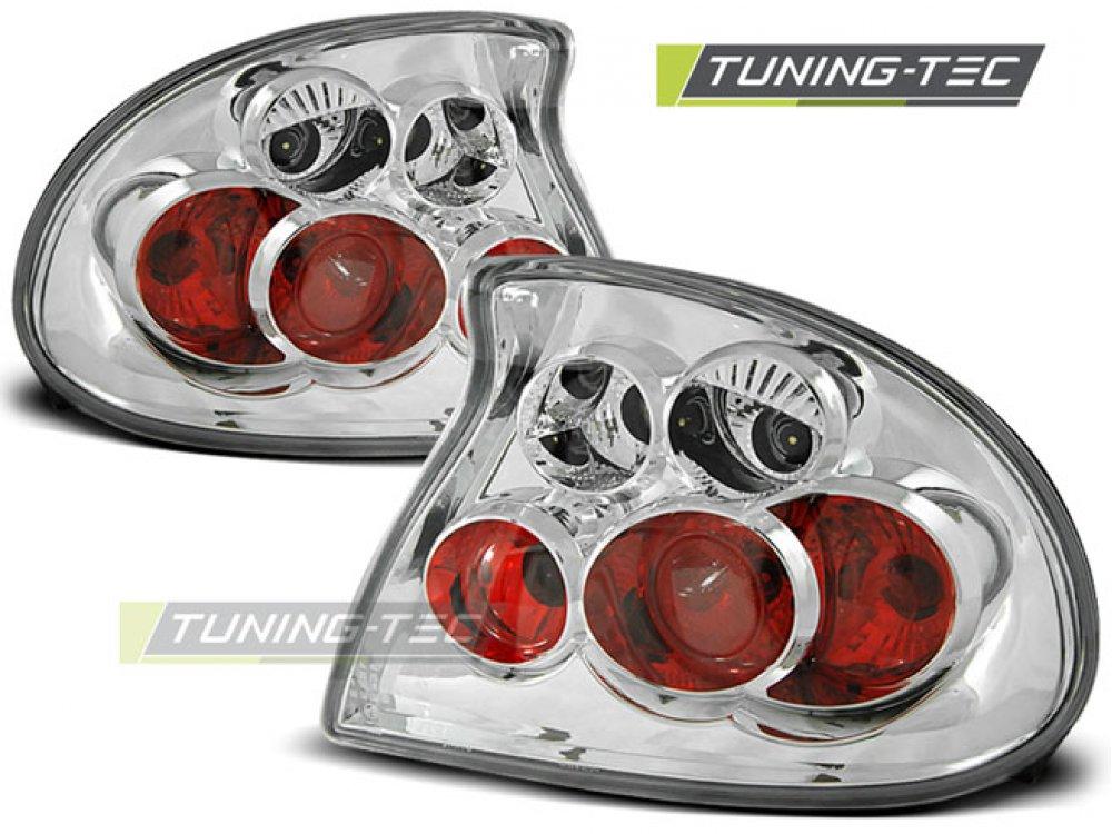 Задние фонари Chrome от Tuning-Tec на Opel Tigra A