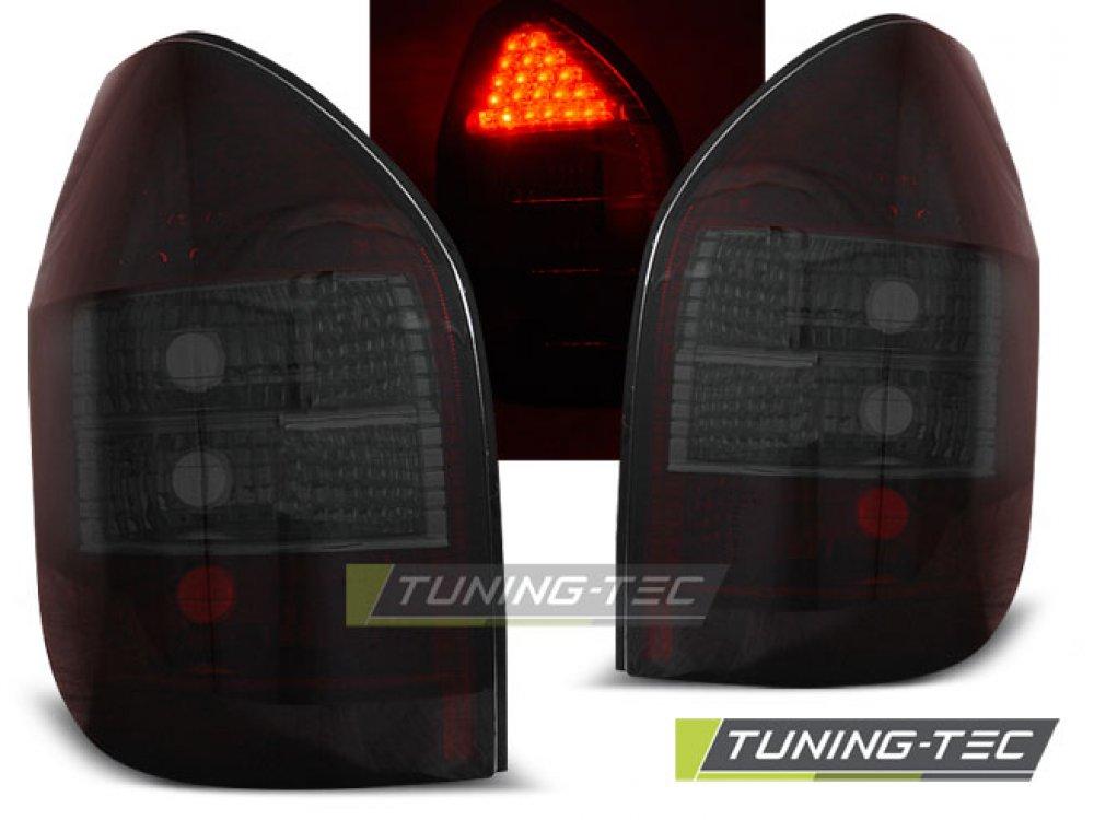 Задние светодиодные фонари LED Red Smoke от Tuning-Tec на Opel Zafira A