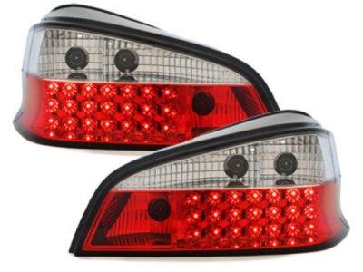 Задние фонари LED Red Crystal на Peugeot 106