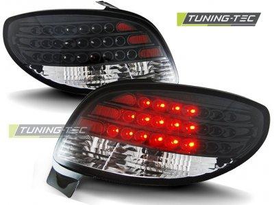 Задние фонари LED Black Var2 от Tuning-Tec на Peugeot 206