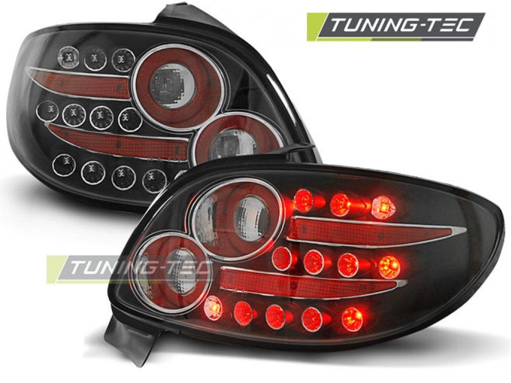 Задние фонари LED Black от Tuning-Tec на Peugeot 206
