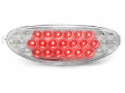 Альтернативные ПТФ LED Chrome на Peugeot 206 / CC
