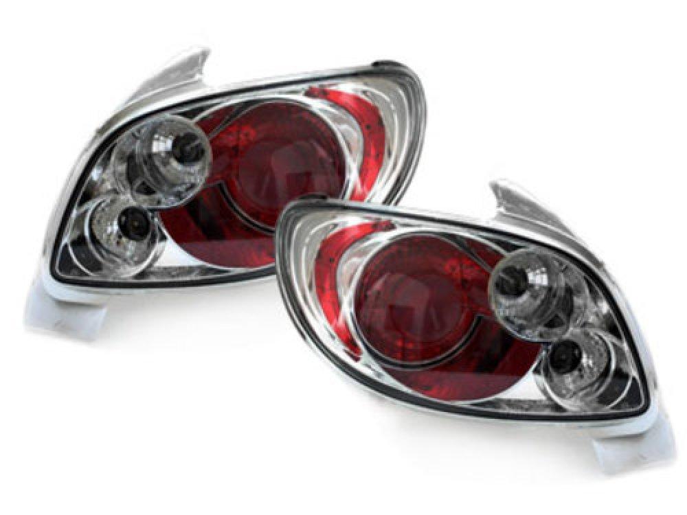 Задние фонари Crystal на Peugeot 206