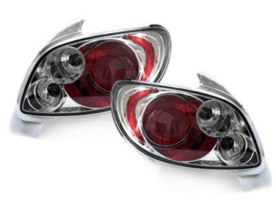 Задняя альтернативная оптика Crystal на Peugeot 206
