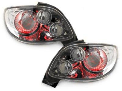 Задние тюнинговые фонари Chrome на Peugeot 206 CC