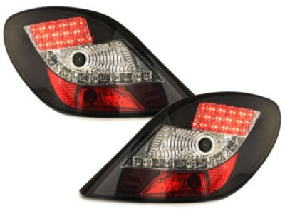 Задние фонари LED Black на Peugeot 207