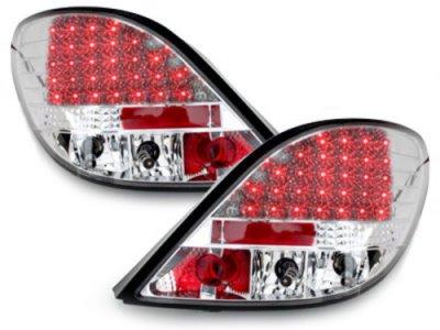 Задние фонари LED Crystal на Peugeot 207