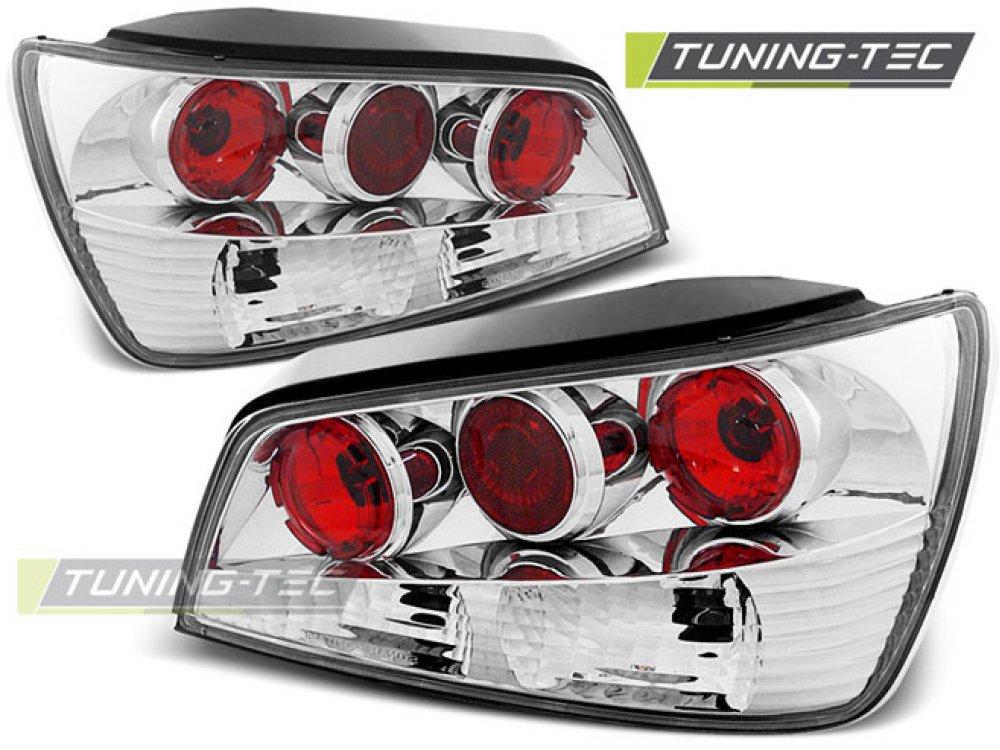 Задние фонари Chrome от Tuning-Tec на Peugeot 306 Hatchback 3D / 5D рестайл