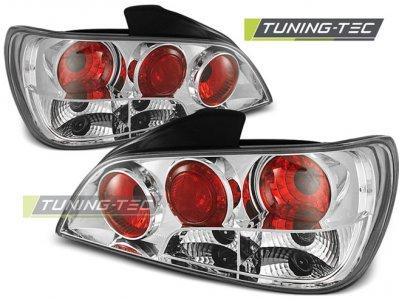 Задние фонари Chrome от Tuning-Tec на Peugeot 306 Limousine