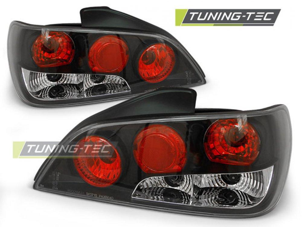 Задние фонари Black от Tuning-Tec на Peugeot 306 Limousine