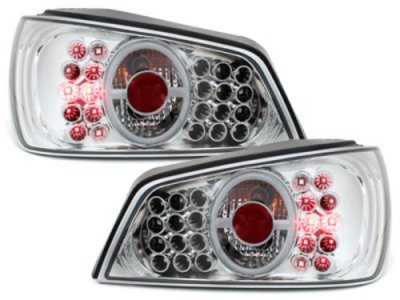 Задние фонари LED Crystal на Peugeot 306