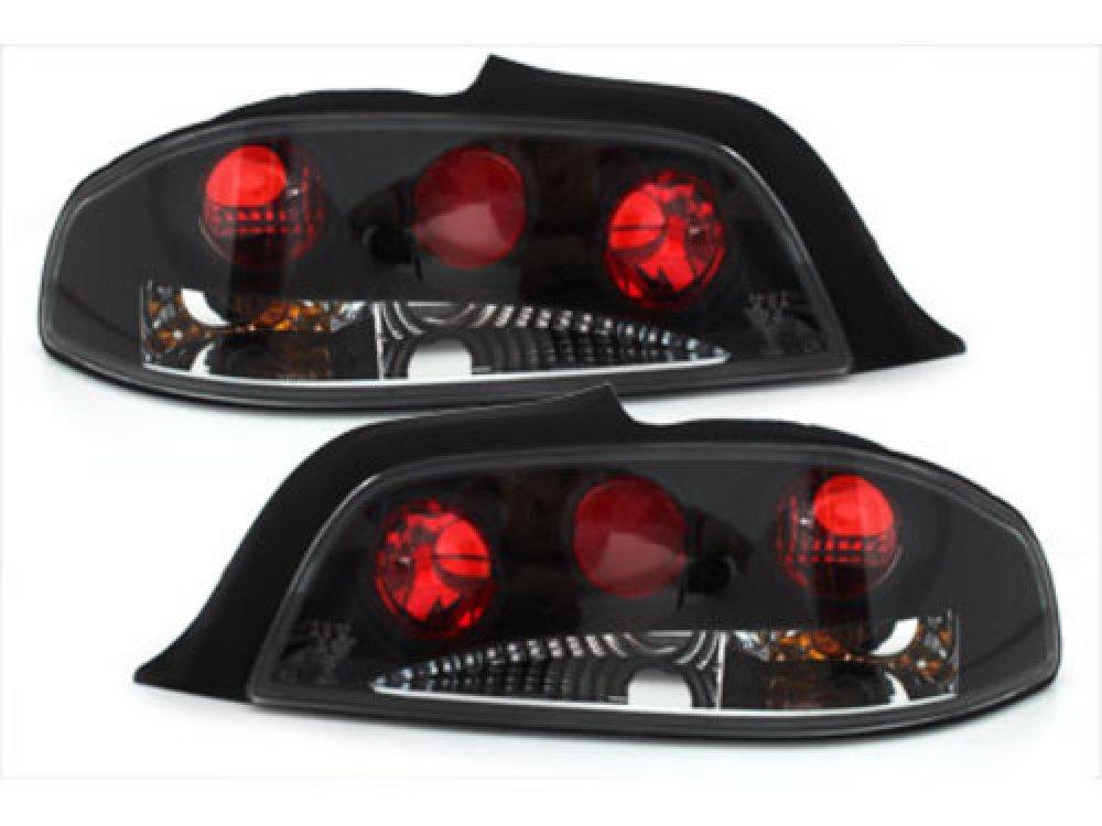 Задние фонари Black на Peugeot 306 Cabrio