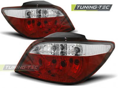 Задние фонари Red Crystal на Peugeot 307