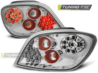 Задние фонари LED Chrome от Tuning-Tec на Peugeot 307
