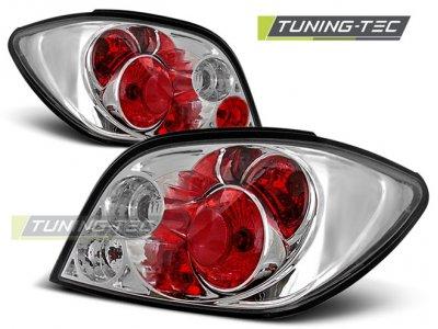 Задние фонари Chrome от Tuning-Tec на Peugeot 307
