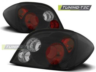 Задние фонари Black от Tuning-Tec на Peugeot 307