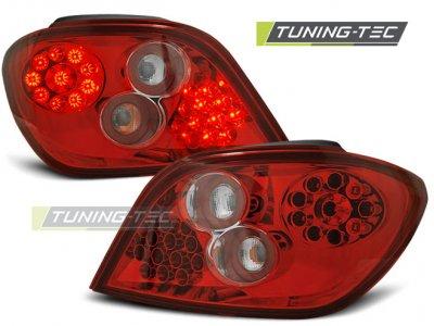 Задние фонари LED Red Crystal от Tuning-Tec на Peugeot 307