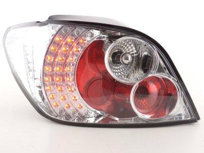 Задние фонари LED Chrome на Peugeot 307