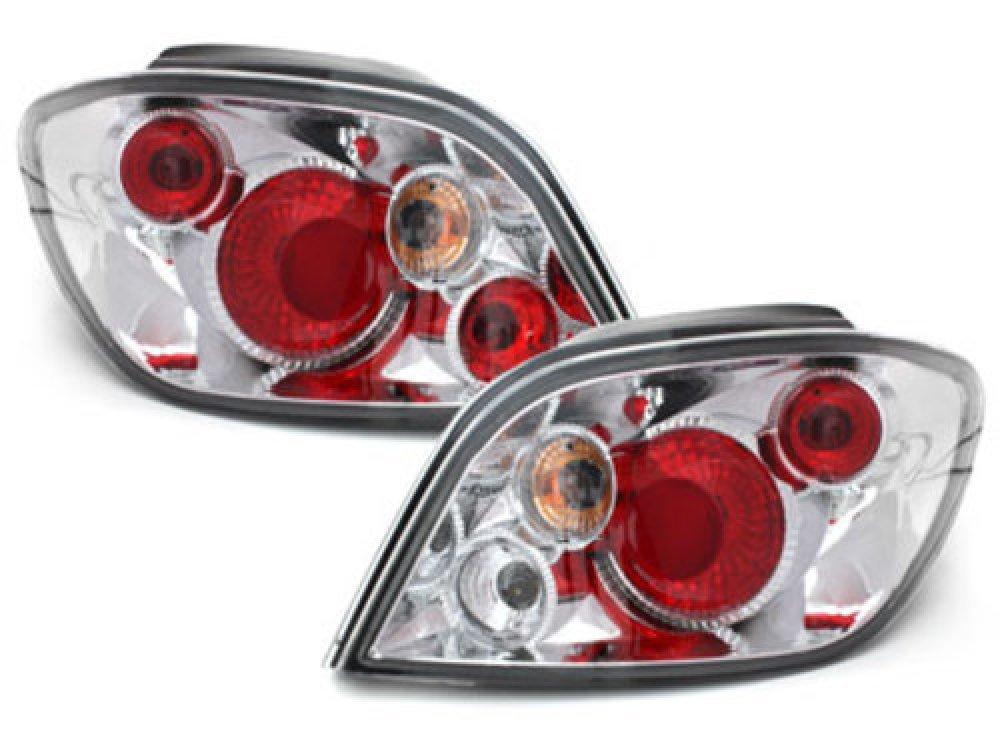Задние фонари Crystal на Peugeot 307